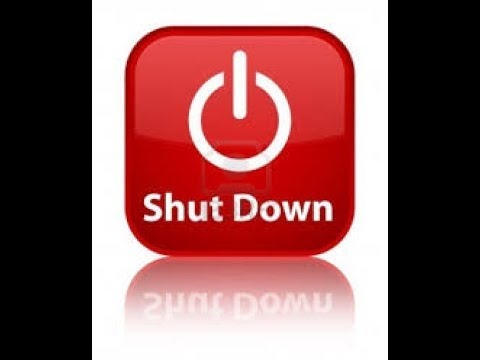 shutdown your just pc 1 click