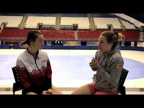 Les médias sociaux en période olympique - Marianne St-Gelais et Kim Boutin