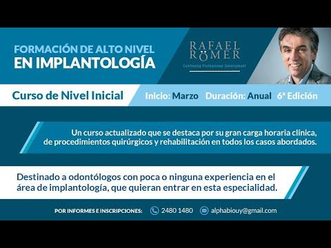 Curso Avanzado de Implantología del Dr. Rafael Römer