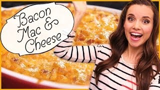Ingrid Dishes | Bacon Mac And Cheese | Recipes From Missglamorazzi