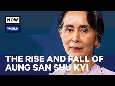 The Rise and Fall of Myanmar's Aung San Suu Kyi Explained | NowThis World