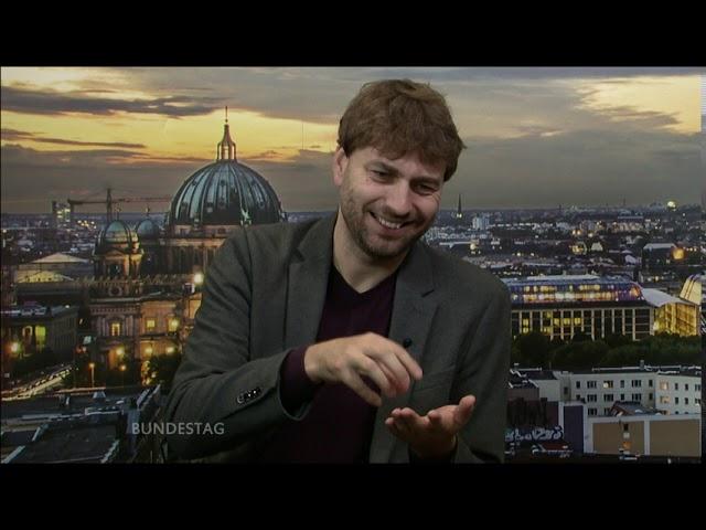 TV BERLIN - Aus Dem Bundestag - Grünen MdB Stefan Gelbhaar: Weniger Geld für Autobahnen