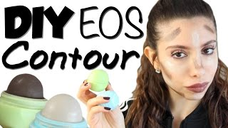 How To: DIY EOS Contour + Highlight Sticks with Coconut Oil | Beautytakenin