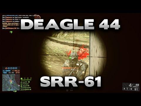 Battlefield 4 Deagle 44 + SRR-61 Gameplay |