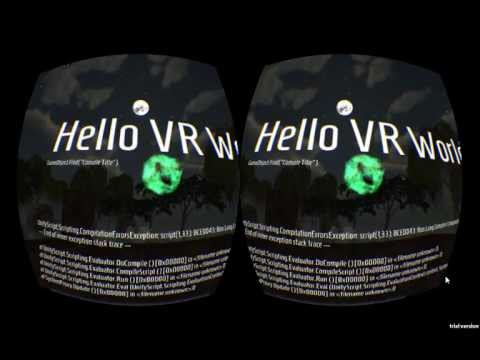 VR Coding Environment Prototype in Unity (for Oculus Rift)