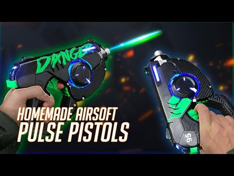 OVERWATCH 2 TRACER'S AIRSOFT PULSE PISTOLS