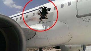 Un avion de passager a explosé peu après son décollage
