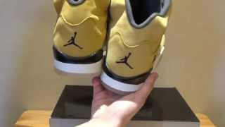 2015 Authentic Air Jordan 5 Tokyo Limited Version Review From www.momosole.cn