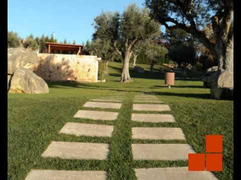Pavimentos exteriores tipo travertino da alcupel quinta for Pavimentos para jardines exteriores