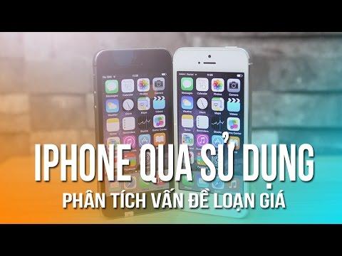 Vì sao iPhone 5, iPhone 5S cũ loạn giá trên thị trường?