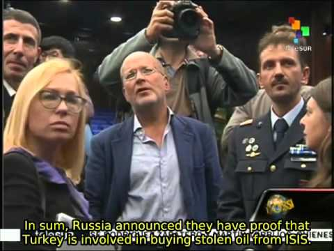 Dossier 12/03: Russia Reveals Turkey Buying Stolen Oil from ISIS