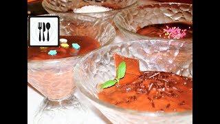 Простой Шоколадный десерт - Новогодний Пудинг, или Крем для торта/Cokolatali puding