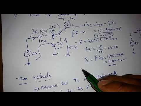 Electronic Devices Lecture-42: Operating modes of BJT
