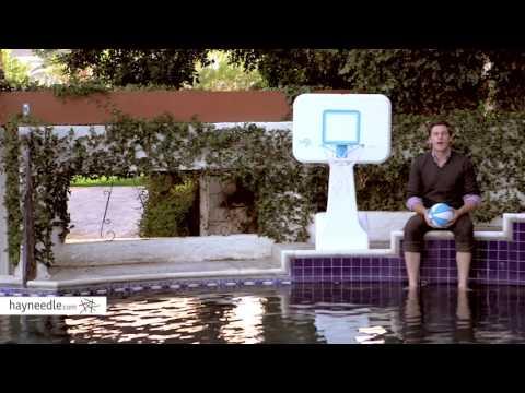 Dunn Rite PoolSport Portable Pool Basketball Hoop - Product ...