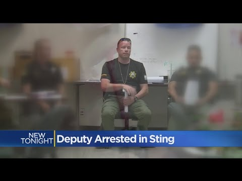 Sacramento Deputy Arrested In Prostitution Sting Was Part Of One In August