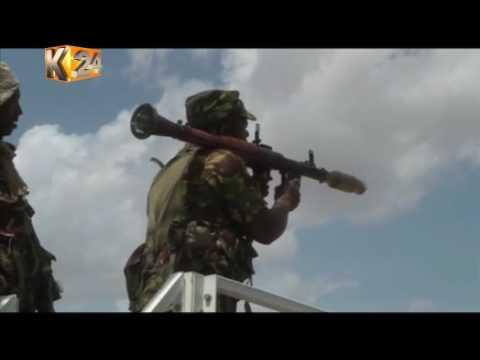 President Kenyatta visits Kenyan troops serving in Somalia under AMISOM