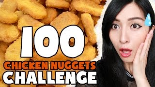 100 Chicken Nuggets Challenge!!