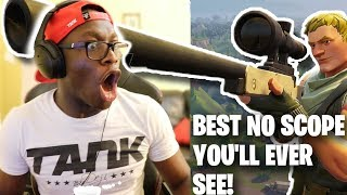 BEST NO SCOPE YOU'LL EVER SEE IN YOUR LIFE (Fortnite Battle Royale)