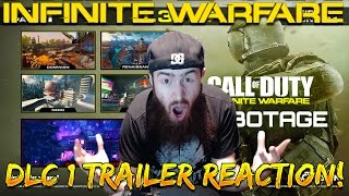 "Infinite Warfare DLC 1 Trailer REACTION! - ""Rave In The Redwoods"" Horror Zombies Map!!!"