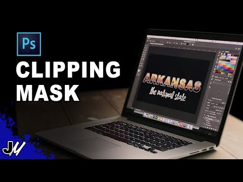 Clipping Mask Photoshop Tutorial (2018)
