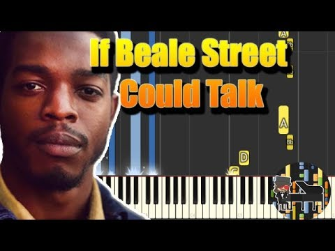 🎵 Trailer Theme – If Beale Street Could Talk [Piano Tutorial] (Synthesia) HD Cover