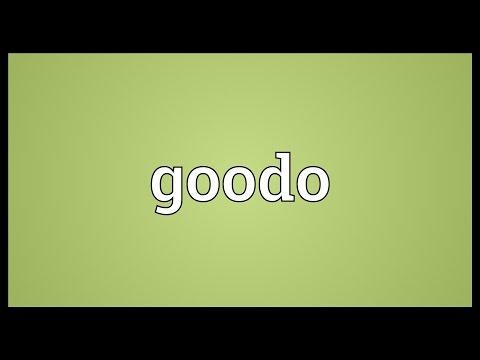 Header of goodo