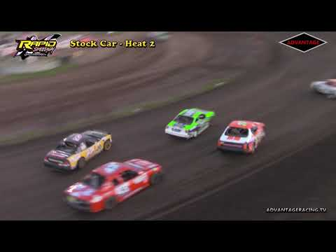 Stock Car Heats - Rapid Speedway - 5/18/18