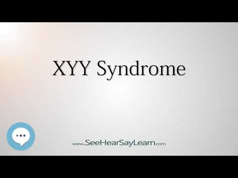 XYY Syndrome 🔊