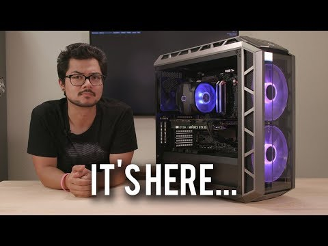 Building a PC in the new Cooler Master H500P