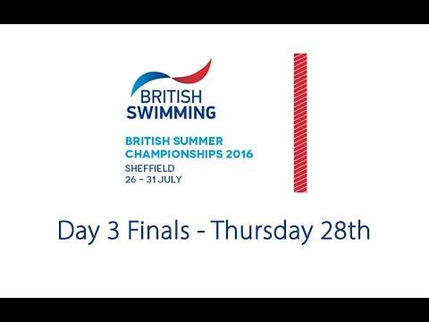Day 3 Finals - British Summer Championships 2016