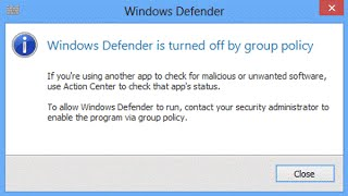 How to enable Windows Defender by Group Policy in Windows 10 || Windows 8 1 || Windows 8