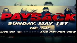 "WWE Payback 2016 - Custom Theme Song -""Gravity"" By Hollywood Undead"