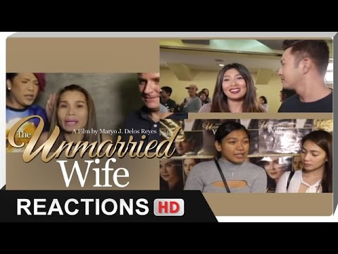 Reactions - Pokwang, Sunshine Garcia, Alyssa Valdez, Aiko Climaco - 'The Unmarried Wife' - 동영상