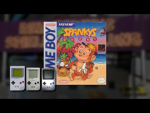 Gameplay : Spankys Quest [Gameboy]
