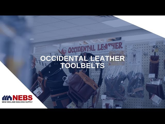 Occidental Leather Tool Belts | NEBS Store