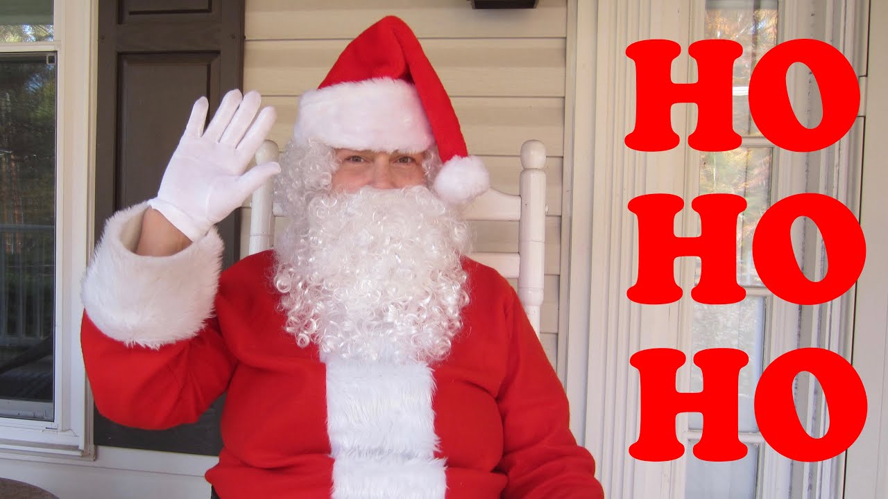 HO HO HO Merry Christmas SANTA CLAUS ✅ - YouTube
