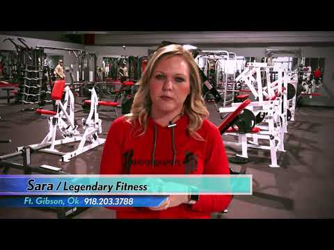 CFC GYM TESTIMONIAL / SARA WITH LEGENDARY FITNESS IN FT. GIBSON OK
