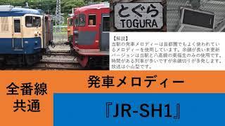 【接近表示器更新後】戸倉駅 接近放送 発車メロディー 『JR-SH1』