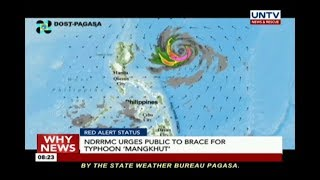 NDRRMC urges public to brace for typhoon 'Mangkhut'