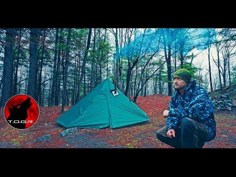 Hot Tent Wild Camp - Escaping The Virus 2 Adventure