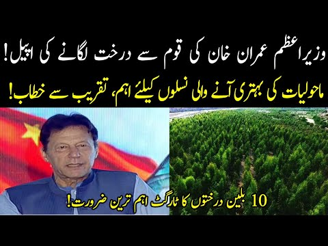 PM Imran Khan's appeal to plant trees!   03 June 2021   92NewsHD thumbnail