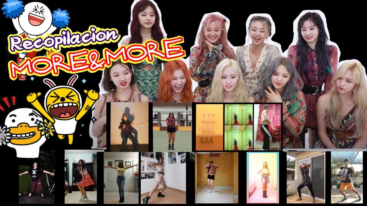 Recopilacion Dance cover More&More Twice from mexico
