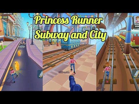 Subway Princess Runner - Girl Amazing Run