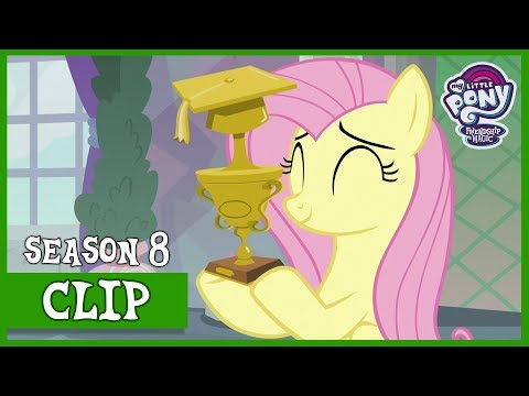 Fluttershy Wins Again for Teacher of the Month (Non-Compete Clause) | MLP: FiM [HD]