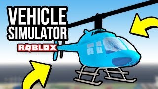 HELICOPTERS WINTER UPDATE - Roblox Vehicle Simulator #30