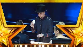 Juegos de cartas, peces, risas y mucha magia con Tomás Sanjuán | Gran Final | Got Talent España 2018 thumbnail