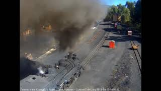 9/17/2018 Train 216 departs Chama, NM with 8 cars