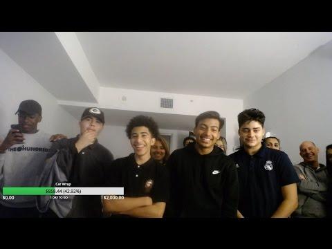 Around 10 kids invade Ice Poseidon's apartment [VOD: 25-03-2017]