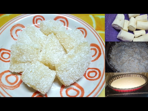 [mauritian-cuisine]-recette-galettes-de-manioc-|-mauritian-cassava-cake-|-gateau-manioc-(pudding)