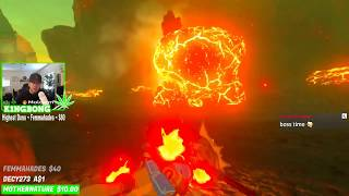 How to Enter Goron City to buy the Fire Proof Armor : Fire Proof Lizards : Zelda Botw Switch Wii U